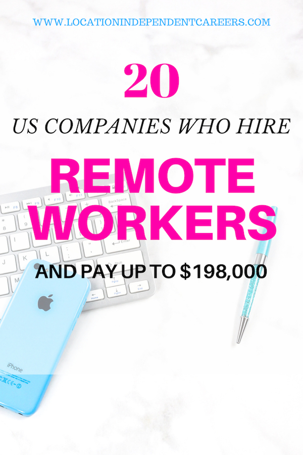 US COMPANIES WHO HIRE REMOTE WORKERS | ONLINE JOBS FOR US COMPANIES | REMOTE JOBS OPPORTUNITIES | ONLINE JOBS IDEAS | MONEY MAKING IDEAS #onlinejobs #moneymaking #remoteworks