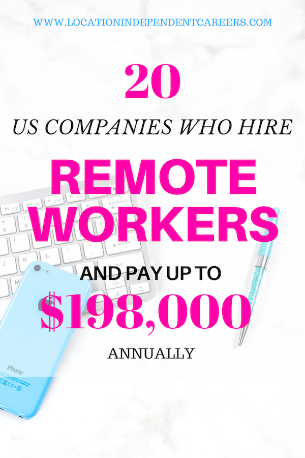 US COMPANIES WHO HIRE REMOTE WORKERS | ONLINE JOBS FOR US COMPANIES | REMOTE JOBS OPPORTUNITIES | ONLINE JOBS IDEAS | MONEY MAKING IDEAS | WORK FROM HOME JOBS | #onlinejobs #moneymaking #remoteworks #workfromhomejobs