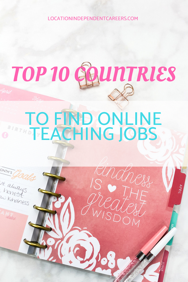 TOP 10 COUNTRIES FOR TEACHING ENGLISH ONLINE | TEACH ENGLISH ONLINE | ONLINE ENGLISH TEACHER JOBS | #onlinejobs #workfromhome #remotejobs #englishteaching